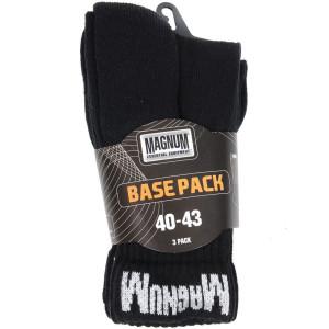 Čarape Magnum BASE PACK - crne, 3 kom