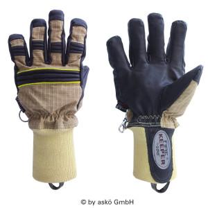 Vatrogasne rukavice Asko FIRE KEEPER PBI MATRIX - kratka tkana manžeta