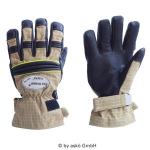 Vatrogasne rukavice Asko FIRE KEEPER PBI MATRIX - kratka manžeta