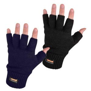 Pletene rukavice bez prstiju Portwest GL14 INSULATEX